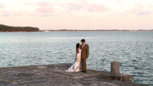 Miami wedding photograpy and video at Vizcaya