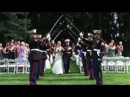 Military Wedding video